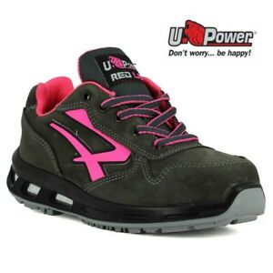 Dettagli su SCARPE ANTINFORTUNISTICA UPOWER RED LION CANDY S3 CI SRC U Power PELLE DA DONNA