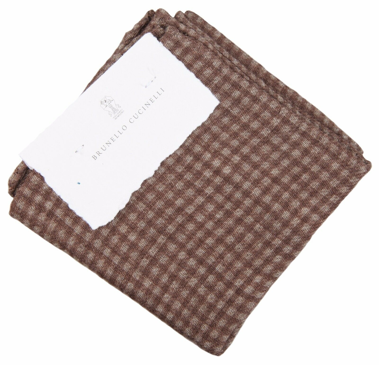 Brunello Cucinelli plastrón Handkerchief pochette pañuelo cloth pañuelo nuevo