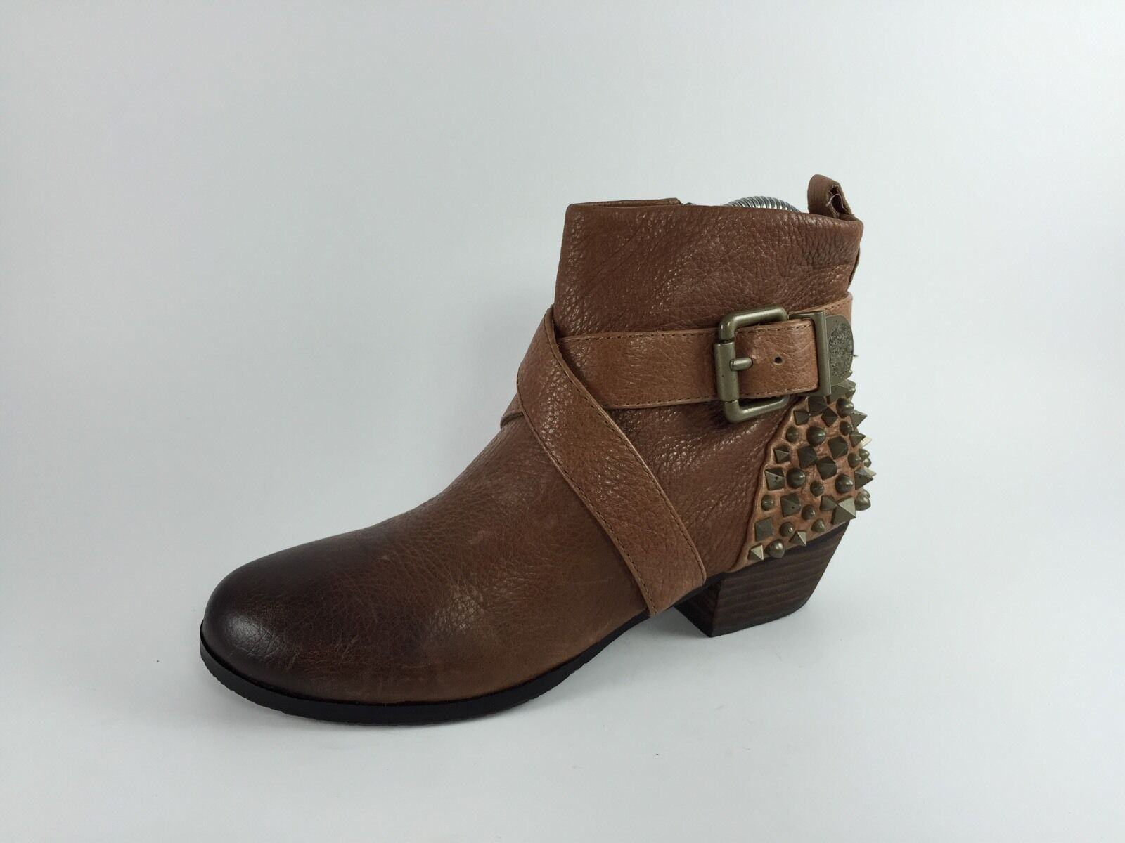 Vince Camuto Damenschuhe Braun Leder Ankle Stiefel 6 B