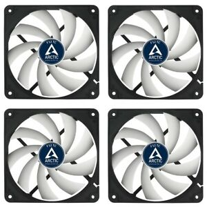 4e-Set-Arctic-F12-TC-120-x-120-x-25-mm-temperaturgesteuerter-Gehaeuseluefter