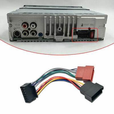 sony automotive audio wiring harness sony 16 pins car stereo radio iso adaptor wiring lead harness  sony 16 pins car stereo radio iso