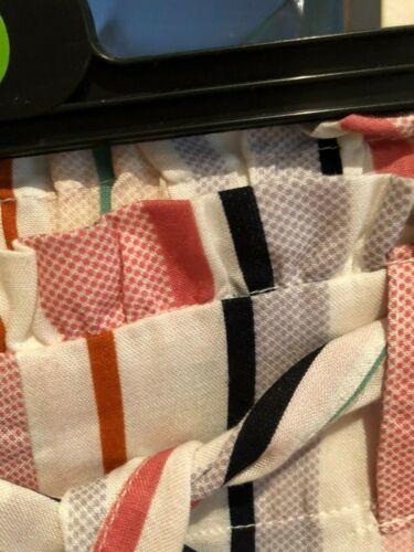 Nuovo di Zecca estate//vacanza TG 8-20... CANDY STRIPE Sacchetto di carta stile linea donna pantaloncini..