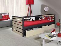 Single Bed With Mattress Children Furniture Js 6