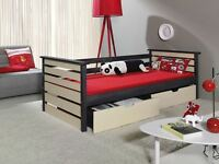 Single Bed With Mattress Children Furniture Js 6