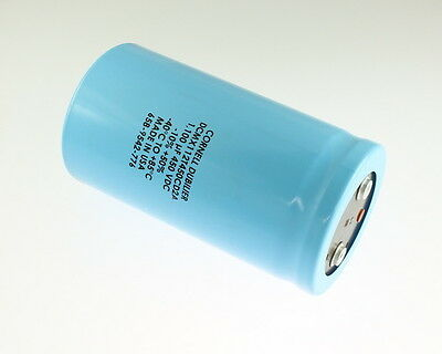 1x 2500uF 50V Axial Electrolytic Aluminum Capacitor DC 2500mfd 50VDC TCG 85C