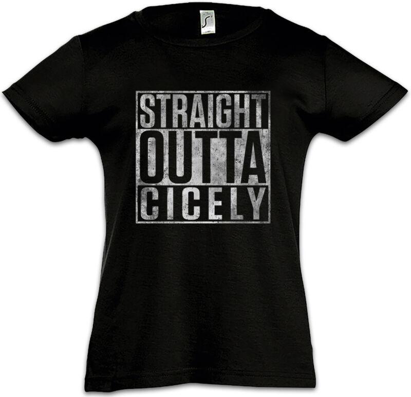 Straight Outta Cicely Kids Girls T-shirt Northern Fun Exposure Doctor Alaska