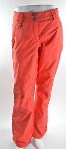 2015-NWOT-WOMENS-ADIDAS-RUN-THE-SNOW-STRETCH-SNOWBOARD-PANTS-S-bright-red