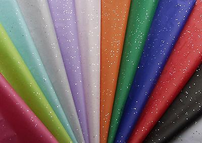 10 sheets glitter sparkle gemstone tissue paper designer many colours