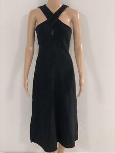 Theory-Black-Dress-Stunning-Size-6-US-Size-8-10-AUS
