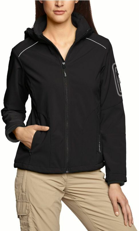 CMP - Damen Softshell Jacke mit Kapuze 3A05396 U901 - XS 36   S 38   XL 44