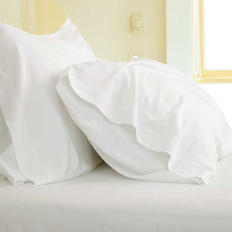Bedsure Cooling Soft Natural Bamboo Pillowcases Set of 2 100