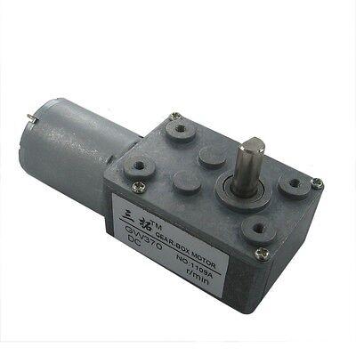 6v 12v 24v Speed 0.6rpm-130rpm High torque Turbo worm Geared motor DC motor