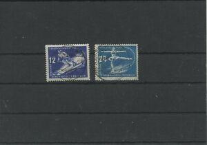 Germany-GDR-vintage-yearset-1950-Mi-246-247-Postmarked-Used-More-Sh-Shop-1