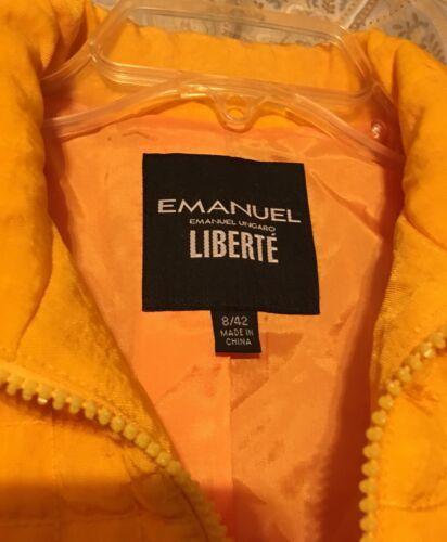 Emanuel Emanuel Caramel Ungaro Jacket Jacket Ungaro Ungaro Caramel Emanuel Jacket Yt7wxTRdq