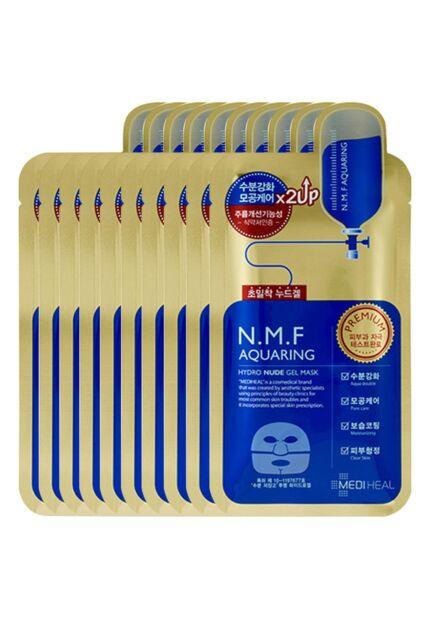 MEDIHEAL N.M.F Aquaring Hydro Nude Gel Mask 30g x 10pcs