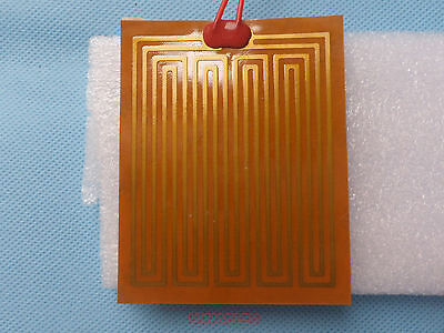 Self-Adhesive PI Flim Heater 100x80mm 12V 35Watts Polyimide Film Heater x1pcs