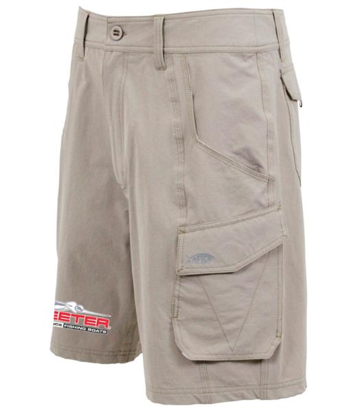 Skeeter Aftco Khaki Fishing Shorts, Dimensione 38