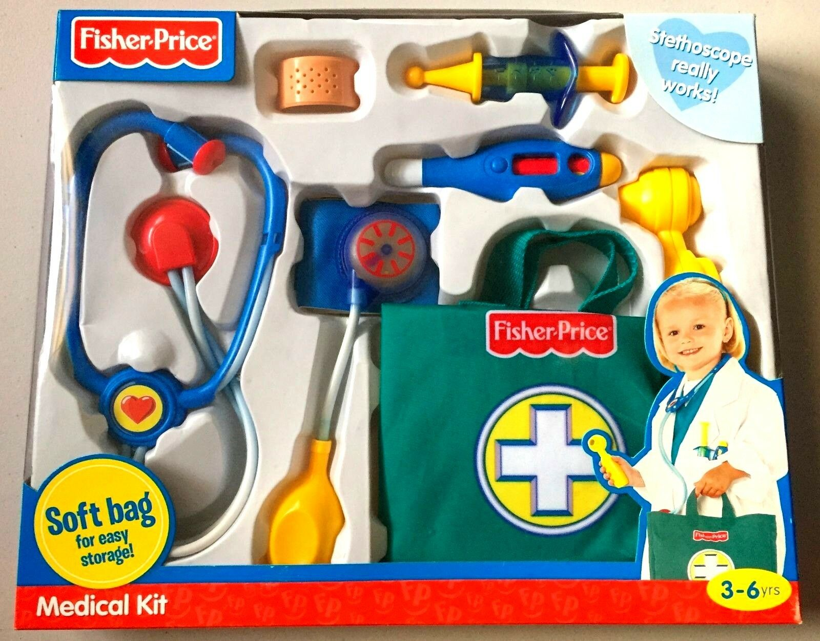 Fisher-Price Medical Kit (Brand New, Factory Sealed)
