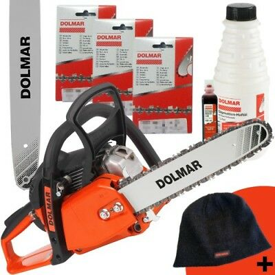 3x Vollmeißel Sägekette 38 cm für DOLMAR Motorsäge PS-420