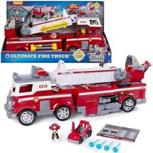 Spin Master Paw Patrol Mega Camions Pompiers De Marshall Caractères Playset 798