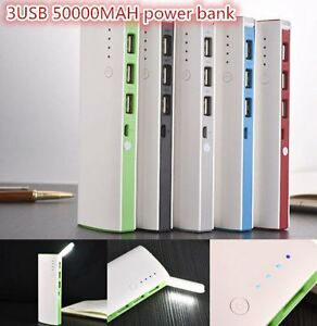 50000mAh-3-USB-Backup-External-Battery-Power-Bank-Pack-Charger-for-Cell-Phone-CX