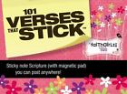 Verses That Stick / Faithgirlz: 101 Verses that Stick for Girls based on the NIV Faithgirlz! Bible, Revised Edition : Bible Verses for Your Locker or Home by Zonderkidz Editors (2012, Print, Other)