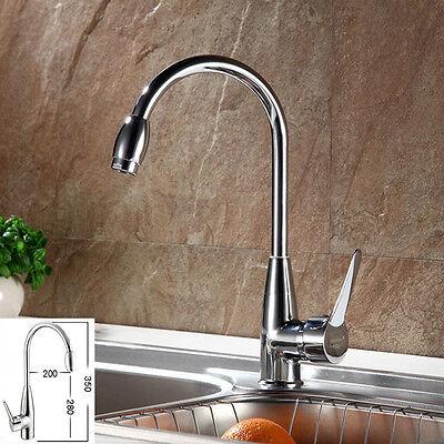 Chrome Hot/Cold Mixer Water Tap Basin Kitchen Bathroom Wash Basin Faucet + Hose