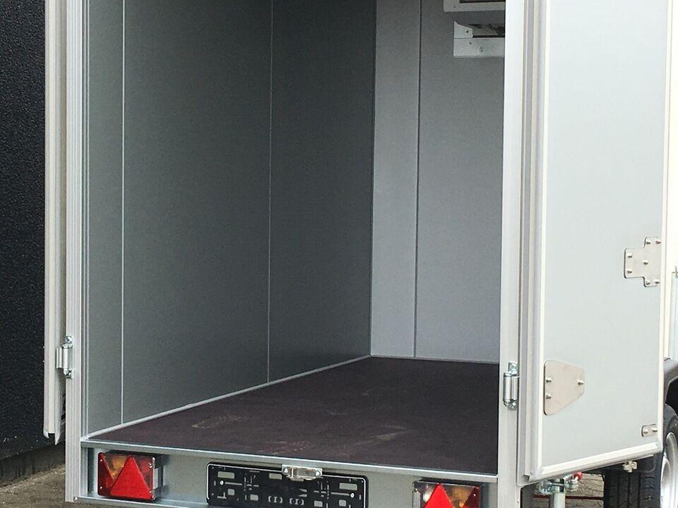 Tilbud Unsinn køletrailer 1300kg - 250x135x190...