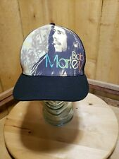 Bob Marley Palms Trucker Hat Reggae Jam Music Snapback Adjustable Unisex Cap New