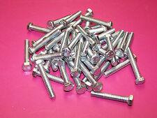 10 Stück Sechskantschrauben DIN 933 Stahl verzinkt M10 x 40 mm Güte 8.8