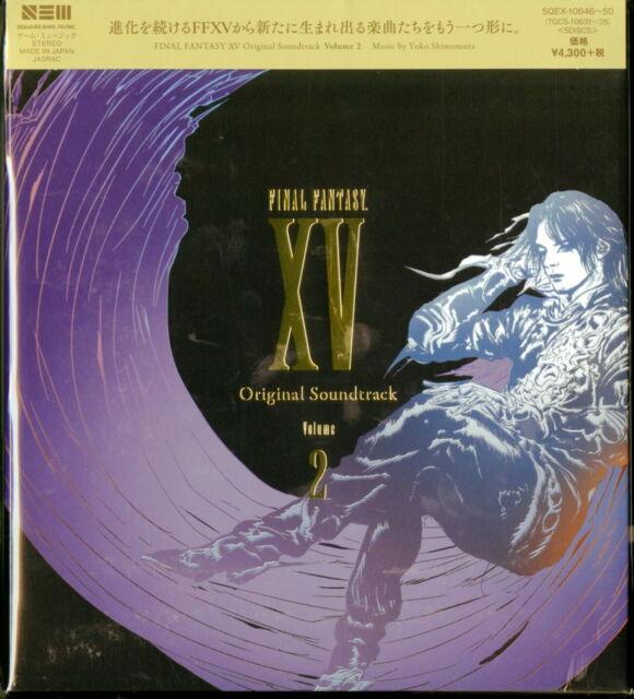 OST-FINAL FANTASY XV VOLUME 2-JAPAN 5 CD Ttt