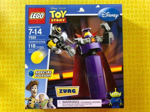 DISNEY TOY STORY LEGO 2010 ZURG BUILDING TOY 7591 SEALED IN BOX