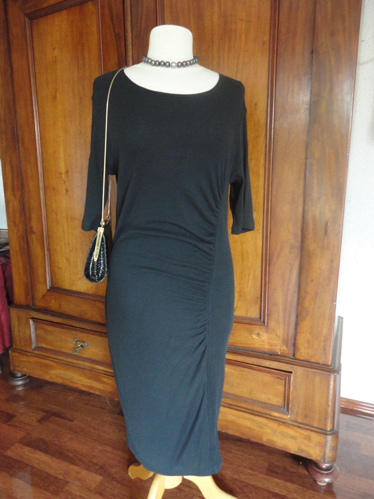 NEU    UNGARO solo damen Paris Abendkleid Party  Kleid dt. Gr. 40 schwarz sexy