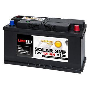 Solarbatterie-12V-120Ah-USV-Batterie-Wohnmobil-Versorgung-Boot-Solar-SMF-100AH