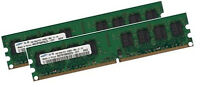 2x 1GB 2GB SAMSUNG RAM PC Speicher 533 Mhz DDR2 PC2-4200U PC2-5300U 240 pin DIMM