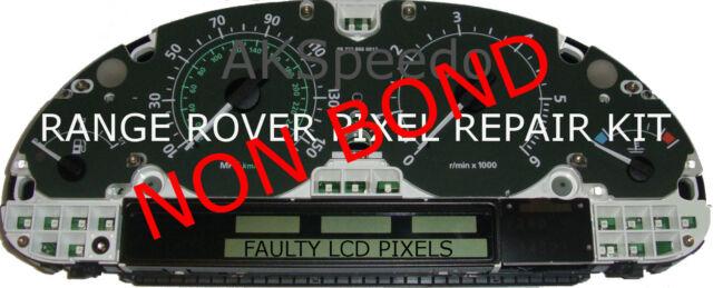 Range Rover L322 Speedo Instrument Cluster LCD Pixel Repair Non Bond Ribbon