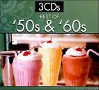 Best of '50s & '60s [Digipak] by Various Artists (CD, Sep-2010, 3 Discs, Sonoma Entertainment)