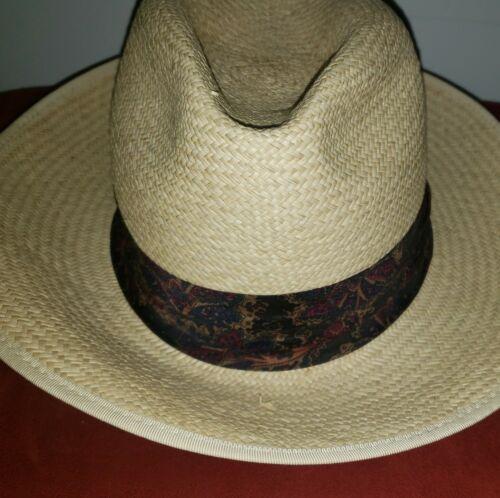 Vintage Kangol XL Straw Summer Hat - image 1
