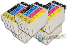 20 T0715 non-OEM Ink Cartridges For Epson T0711-14 Stylus DX7450 DX8400 DX8450