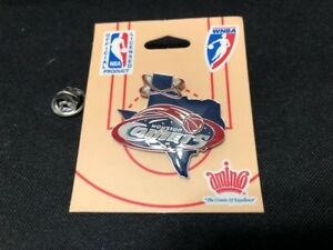 NEW-Houston-Comets-Pin-Texas-Logo-WNBA-Licensed-Butterfly-Pin-Back