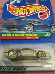 HOT WHEELS FERRARI F50 #855 Die-Cast Car MOC COMPLETE 1997