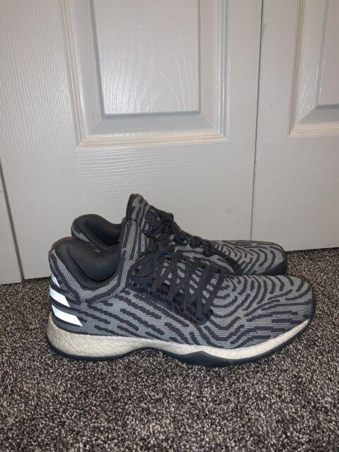 septiembre Calificación fantasma  adidas Boys' Size 5.5 Harden Vol. 1 LS Primeknit Basketball Shoes - Black  Cq0188 for sale online | eBay