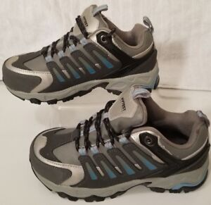 86e2b233aacaa Details about Hytest Multi-Sport Women's Steel Toe Work Athletic EH Shoes  Size 5W K17116