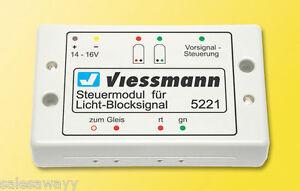 Viessmann 5221 Steuermodul für Licht-Blocksig<wbr/>nal