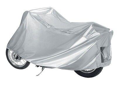 HOUSSE BACHE MOTO Couvre-Moto velo VTT scooter Taille XL 245cm argente noir protection