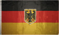 Germany German Deutschland Eagle Crest Sports Olympics Football Flag 5x3ft