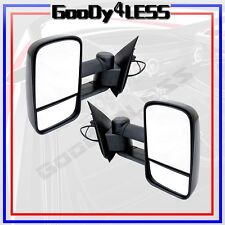 For 97-03 Ford F150 Light Duty Reg/ Super Cab Power Extendable Towing Mirrors