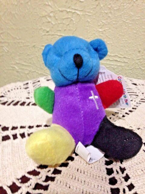 Simon the Scripture Bear Plush Talking 9 Bible Verses Faith Kids 2000 Teddy