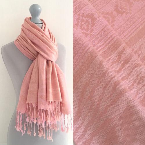 Groß Einfarbig Paisley Blumen Pashmina Schal Abend Schal Lange Baumwolle Schals
