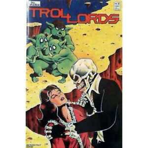 Trollords (1986 series) #3 in Very Fine + condition. [*be]